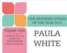 Citizen of the Year - Our Mosheim
